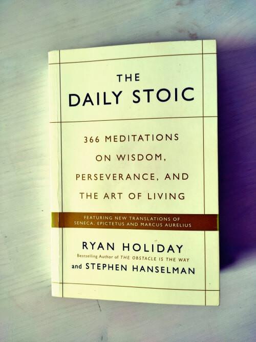 Buch The Daily Stoic von Ryan Holiday