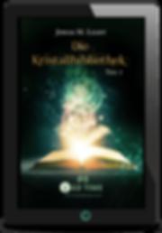 E-Book Cover Fantasyroman Tad Time #6: Die Kristallbiblothek
