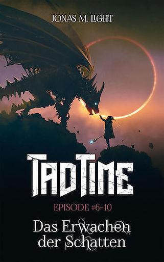 Cover E-Book Fantasyroman »Das Erwachen der Schatten« (Tad Time Fantasy)