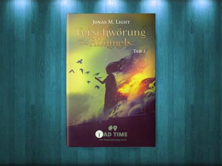 Neu & Hot: Fantasyroman »Die Verschwörung des Himmels – Teil 1«