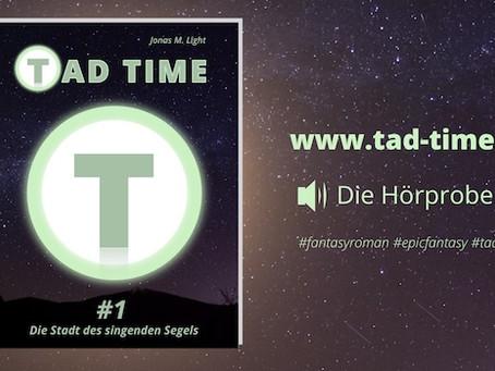 Hörprobe Tad Time #1 veröffentlicht