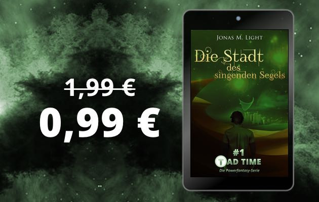 Tad Time Fantasyroman für 99 Cent