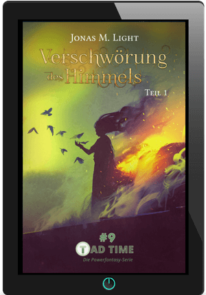 Cover Fantasyroman Tad Time Episode 9 E-Book