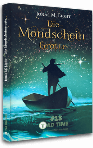 Cover Taschenbuch Fantasyserie Tad Time Band 13
