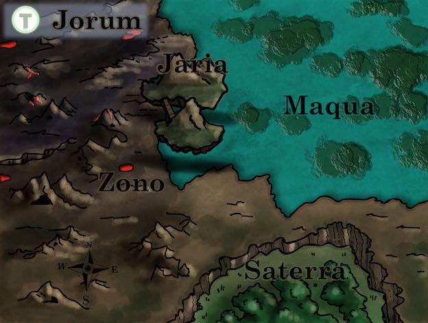Tad Time Fantasykarte Oberfläche