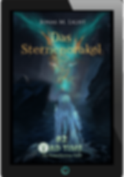 E-Book Cover Fantasyroman Tad Time #2: Das Sternenorakel