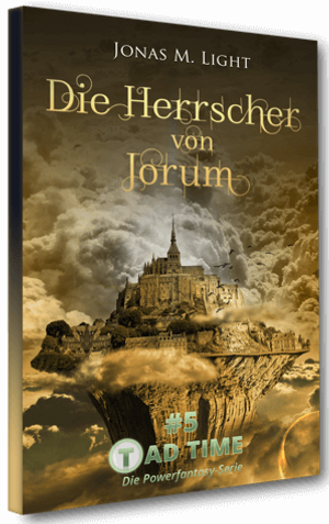 Cover Taschenbuch Fantasy-Roman Tad Time #4: Pfad der Schatten