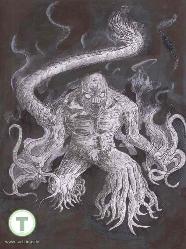 Sargaad finale Zeichnung - wow, was ein Monster!