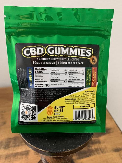 CBD GUMMIES - 12 count pack