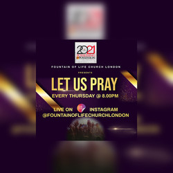 Let us Pray flyer 2021
