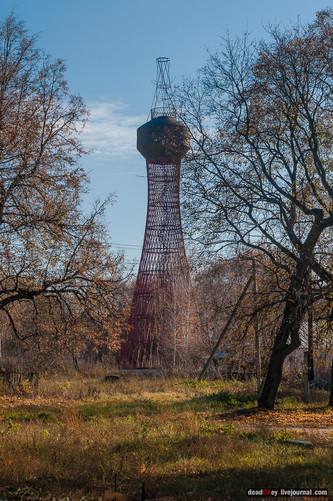 Шуховская башня. Наши дни. Фото Вадима Разумова