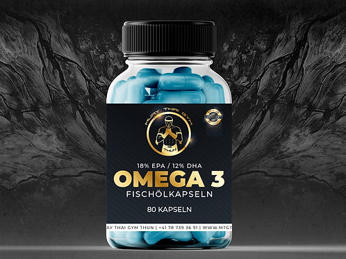 Omega 3 Fischölkapseln