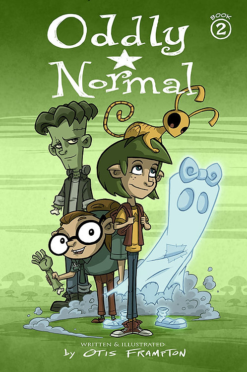 Oddly Normal Book 2 - Signed