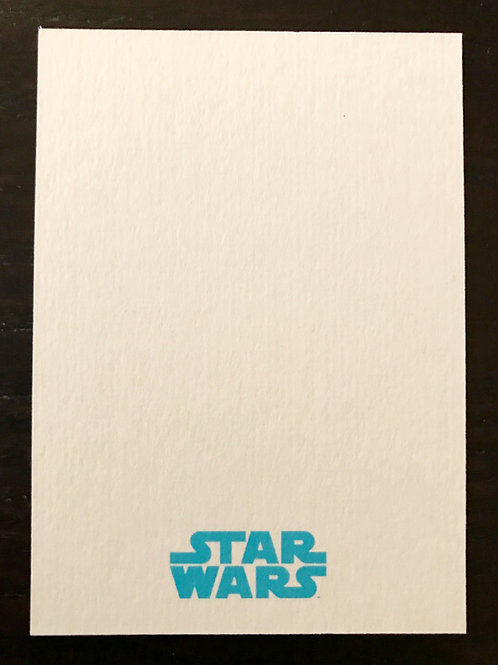 Star Wars Topps Sketch Card Commission