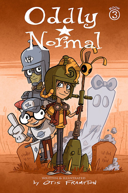 Oddly Normal Book 3 - Signed