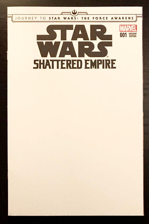 Sketch Cover Commission - Star Wars: Shattered Empire #1