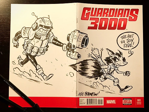 Sketch Cover - Guardians 3000 #1