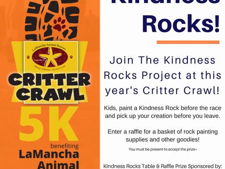 Join us LaMancha's Critter Crawl 5K!