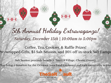 5th Annual Holiday Extravaganza!