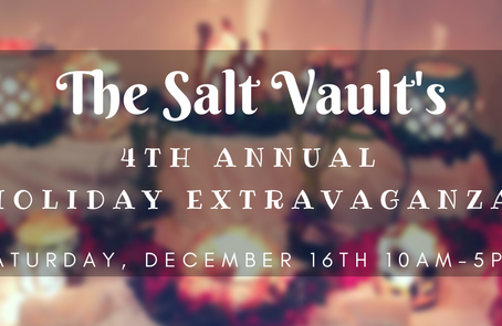 Celebrate our 4th Annual Holiday Extravaganza on Saturday, Dec 16th
