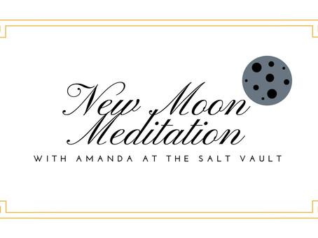 New Moon Meditation Sept 12th 7-8pm