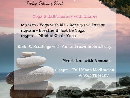 Join us for Feel Good Friday on 2/22!