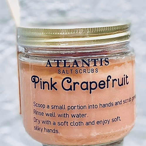 Pink Grapefruit Salt Scrub