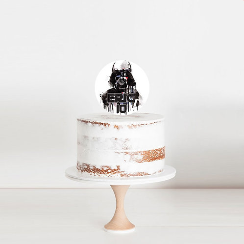 Star Wars - Birthday Cake Topper