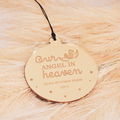Our Angel in Heaven - Ornament
