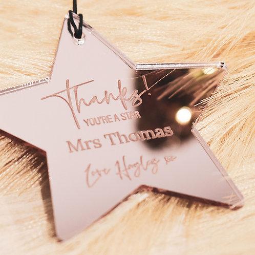 You're a Star - Teachers Gift Ornament