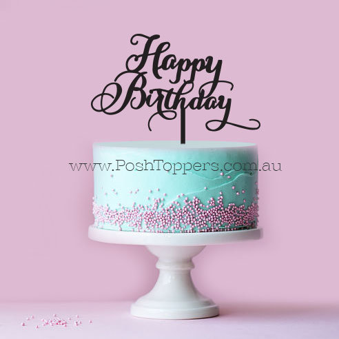 EXPRESS SERVICE - Scripted Happy Birthday 2