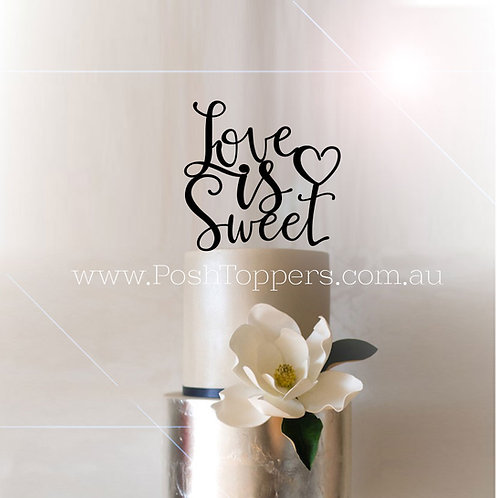 Love is Sweet with Heart