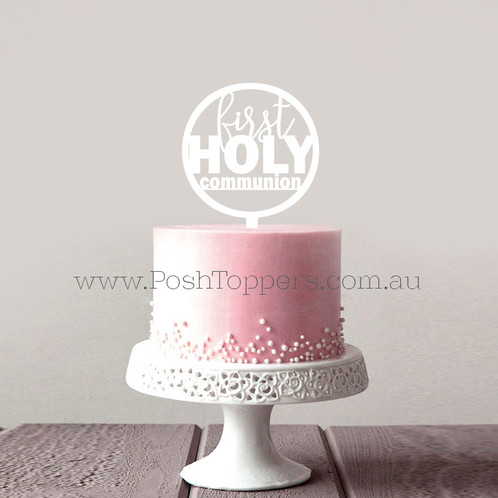 First Holy Communion Religious Cake Toppers Cake