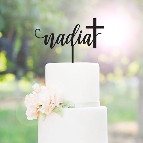 Scripted Custom Name with Cross