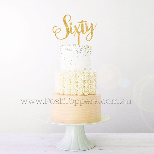 posh wedding cake toppers age topper sixty cake toppers australia wedding 18704