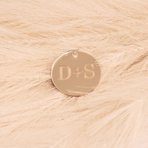 Engraved Mirror Acrylic  - Personalised Gift Tags Packs
