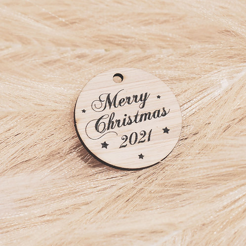 Merry Christmas - Personalised Gift Tags Packs