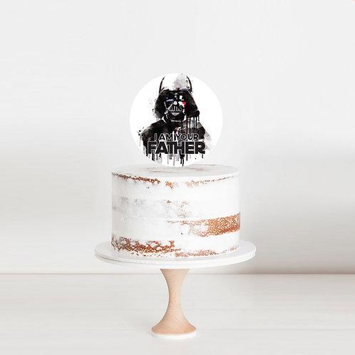 Darth Father - Cake Topper