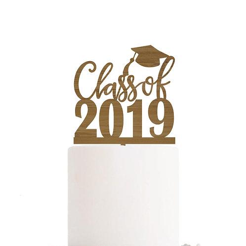 Graduation Year - Cake Topper