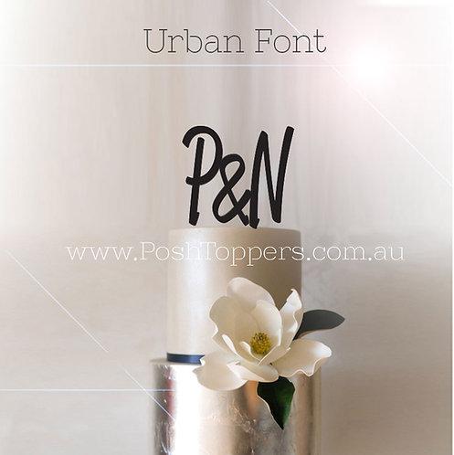 Initial & Initial - Various Fonts