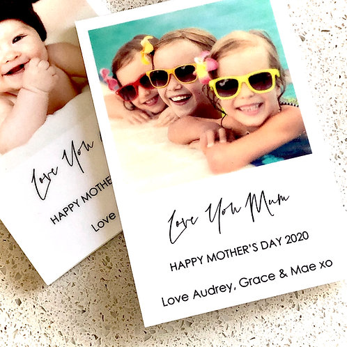 Personalised Mothers Day Magnets - Love You Mum