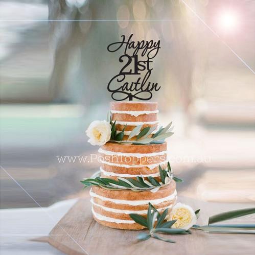Happy Age Custom Name