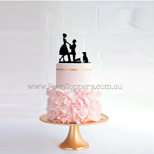 Personalised Cake Toppers Are Available In Many Colours Such As Acrylic Mirror Tinted Glitter Or Bamboo Wood To Suit Your Theme Wedding