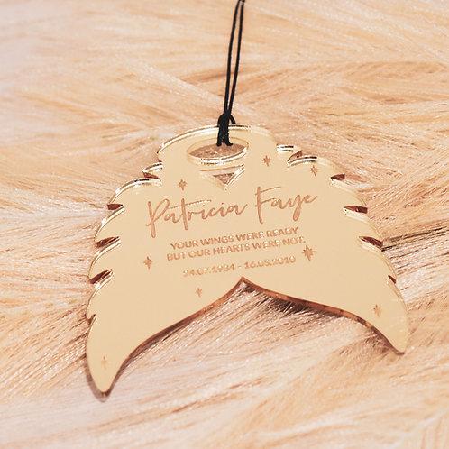 Angel Wings - Personalised Ornament