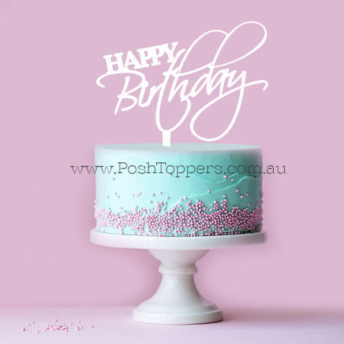 Birthday Cake Toppers Custom Designs Melbourne Sydney Perth Brisbane