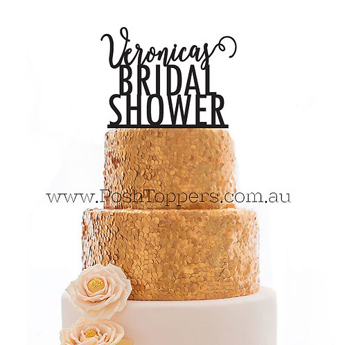 Scripted Name Bridal Shower