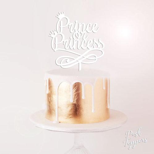 Prince or Princess - Cake Topper