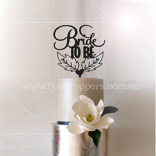 Bride to Be - Leaf