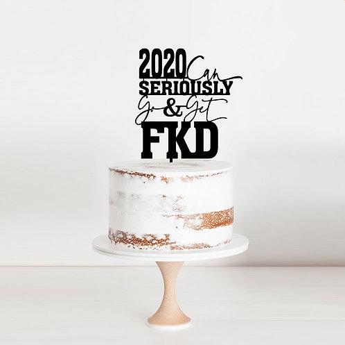 2020 FKD - Cake Topper