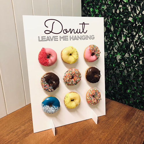 Donut Leave me Hanging - Wall Stand